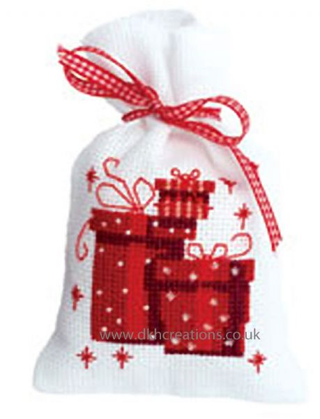 Presents Pot Pourri Bag Cross Stitch Kit